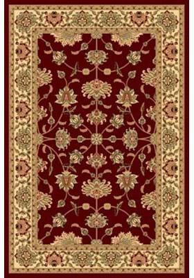 Rugs America 342 Kashan Cherry