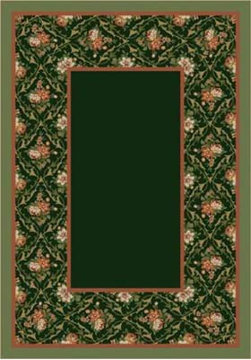Milliken Bouquet Lace 8539 Olive 11506