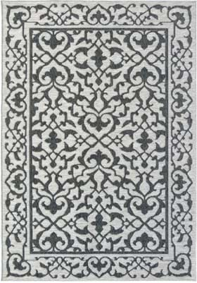 Orian Rugs Simone 3916 Anthracite Grey