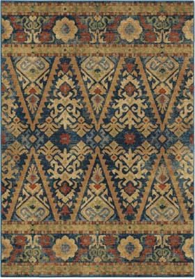 Orian Rugs 4516 Bremer Navy