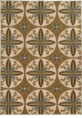 Oriental Weavers 15863 Tan Ivory