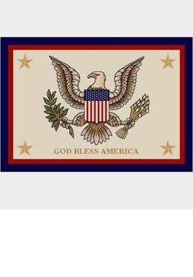 Milliken God Bless America 7304 Opal 2000