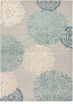 Rizzy DI 2241 Ivory Blue