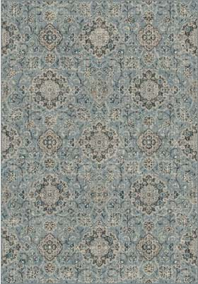 Dynamic Rugs 89665 4929 Blue Taupe