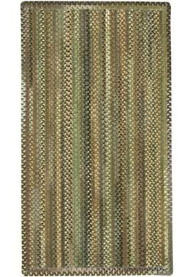 Capel Eaton Green Vertical Stripe Rectangl