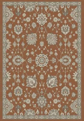 Dynamic Rugs 95052 8292 Rust Ivory
