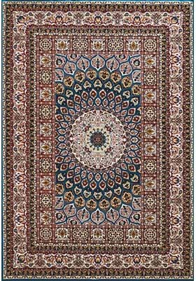 United Weavers Jaipur 1900-016 62 Cerulean