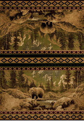 United Weavers 511-32026 Scenic Bear Beige