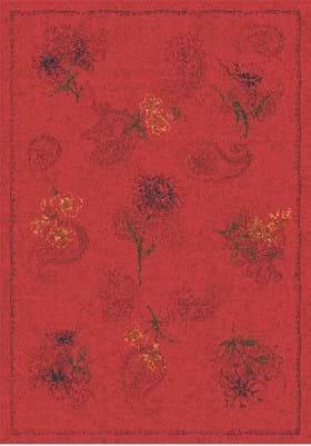 Milliken Vintage 7406 Auroa Red 202