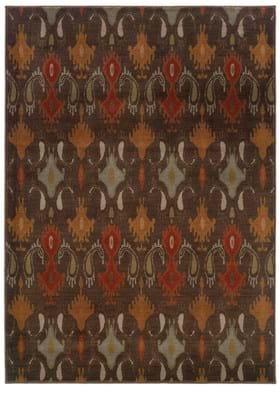 Oriental Weavers 4447A Brown
