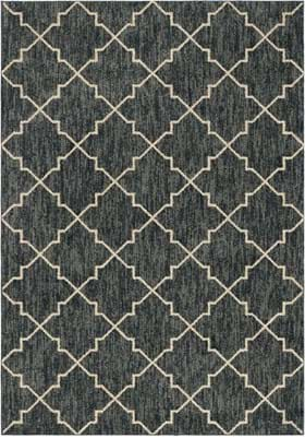 Orian Rugs 4418 Persian Hourglass Blue