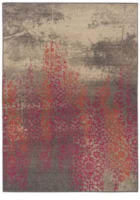 Oriental Weavers 504J Grey Pink