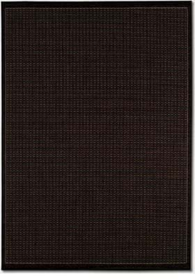 Couristan 1001 Saddle Stitch 2000 Black Cocoa
