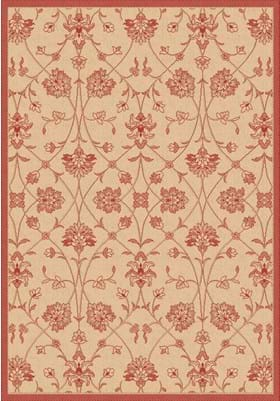 Dynamic Rugs 2744 3701 Natural Red