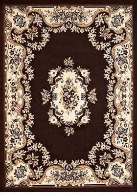 United Weavers Classic Aubusson 950-108 55 Dark Brown