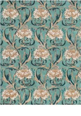 Trans Ocean Floral 924004 Teal