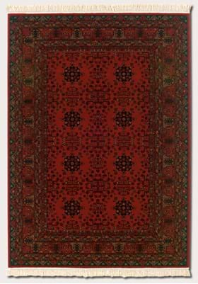 Couristan 7870 Afghan 1872 Nomad Red