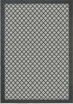Orian Rugs Fusion Trellis 3912 Charcoal