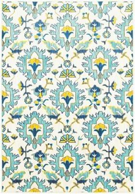 Oriental Weavers 95W Ivory Blue