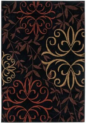 Orian Rugs Josselin 1819 Black
