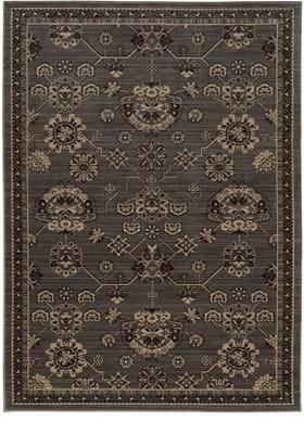 Oriental Weavers 1542M Charcoal