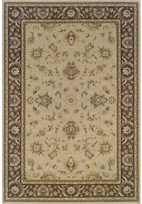 Oriental Weavers 2153D Olive Brown
