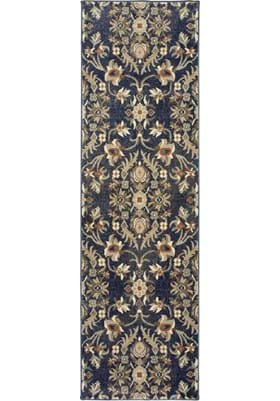Oriental Weavers 6548S Blue Brown