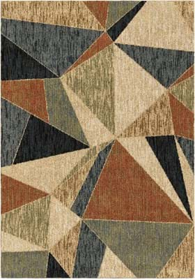 Orian Rugs 4401 Glass Shard Multi