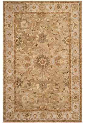 Safavieh AN585F Tan Ivory