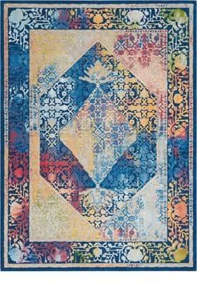 Nourison ANR04 Blue Multi